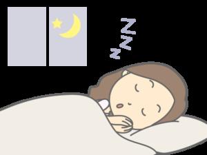 睡眠不足と女性の妊娠の関係